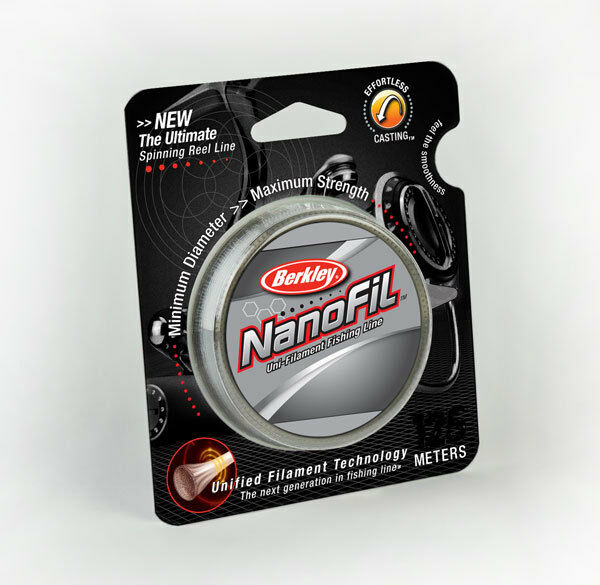 NEW BERKLEY NANOFIL 270M SPOOLS CLEAR MIST 14.7KG - 20.1KG BREAKING STRAINS