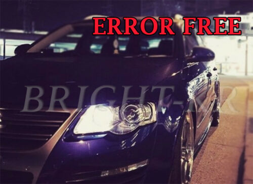 VW Passat B6 B7 3C XENON WHITE LED SIDE LIGHT LED LIGHT Bulbs - ERROR FREE