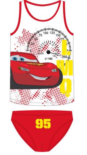 Disney Cars Flash McQueen sous-vêtements Set Chemise slip