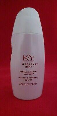 k y intrigue heat premium personal lubricant 2 75 fl oz 81ml super rare ebay ebay
