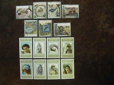 Aggressive Albania Mi No 1597-1772 Gest Mint Easy And Simple To Handle 3 Sets 'art' From Mi No