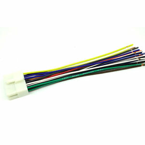 Fine Clarion 16 Pin Car Stereo Radio Wiring Wire Harness Ebay Basic Wiring 101 Capemaxxcnl