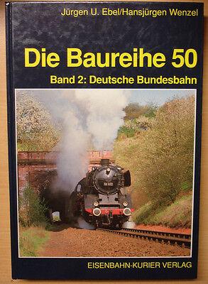 Die Baureihe 50 Deutsche Bundesbahn Dampflok Geschichte BR50 EK Verlag Buch