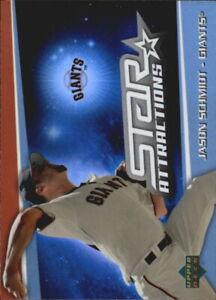 2006 Upper Deck Special F/X Star Attractions #JS Jason Schmidt - NM-MT