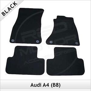 Audi-A4-Estate-Avant-B8-2008-2015-Tailored-Fitted-Carpet-Car-Floor-Mats-BLACK