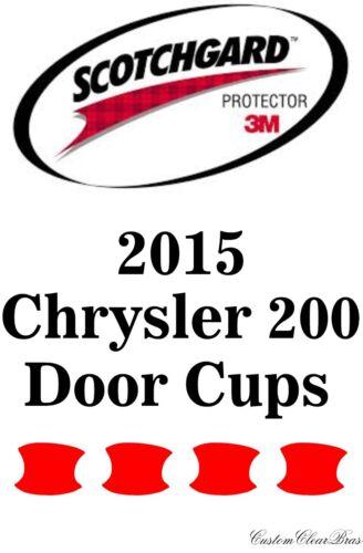 3M Scotchgard Paint Protection Film Clear Bra Pre-Cut Kits 2015 Chrysler 200