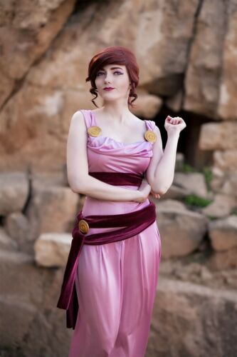 Megara Hercules cosplay dress (Meg, Disney)