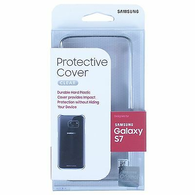 100% Authentic For Samsung Galaxy S7 Edge & Galaxy S7 Clear View Case Cover