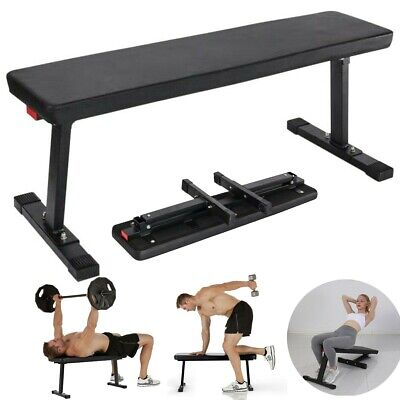 Astounding Flat Utility Sit Up Weight Bench Gym Exercise Fitness Workout Home Training Ebay Dailytribune Chair Design For Home Dailytribuneorg