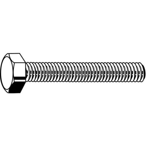 FABORY M01010.100.0040 HHCS,M10-1.50x40mm,Steel,Gr 8.8,Pln,PK50