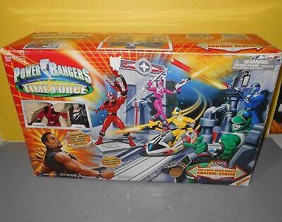 "Power Rangers Time Force Control Center Exclusive 5/"" Ransik Quantum Ranger 2001"