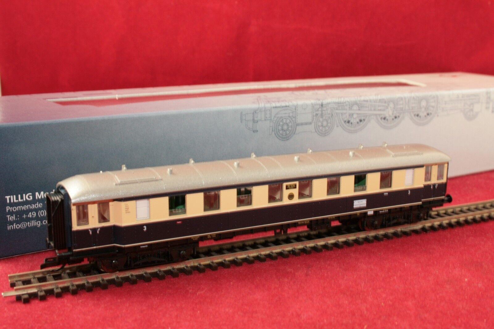 Tillig pista TT 01757-3 DRG viajeros 3. clase  Karwendel-express  EP. II Nuevo