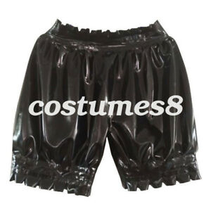 New-Latex-Boxer-Shorts-100-Rubber-Gummi-Colorful-Ruffle-Unisex-Sexy-size-S-XXL