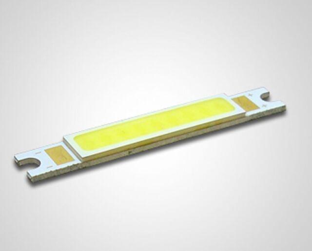 1 PCS 3W White COB High Power LED Stripe LED Light Emitting Diode 48*7mm
