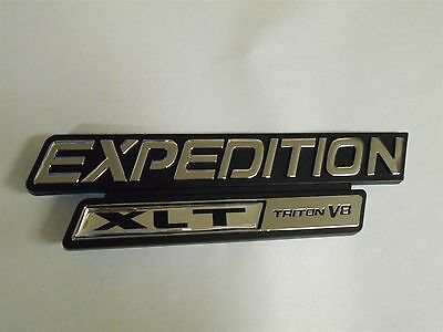new 1997 2002 ford expedition xlt triton v8 fender emblem xl1z 16720 bb new ebay ebay