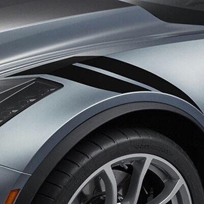 2017-2019 C7 Corvette Grand Sport GM Fender Hash Marks Carbon Flash  23507123 635650596247 | eBay