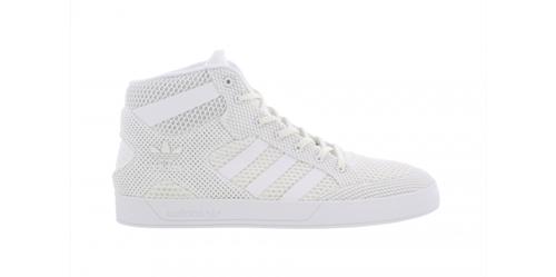 Hommes Adidas Hardcourt HI CG3143 Complet Blanc Tailles: UK 7.5 _ 8 _ 9 _ 9.5 _ 10 _ 10.5 _ 11.5