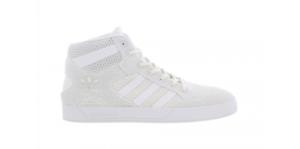 Mens Adidas Hardcourt Hi Tops CG3143 White White
