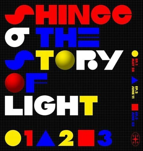 'THE STORY OF LIGHT' EP.2 SHINEE 6th Album CD+POSTER+P.Book+Lyrics+Card SEALED