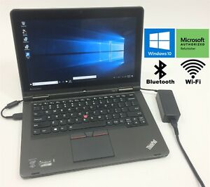 Lenovo-ThinkPad-Yoga-12-12-5-034-Laptop-i5-5300U-128GB-SSD-8GB-RAM-Windows-10