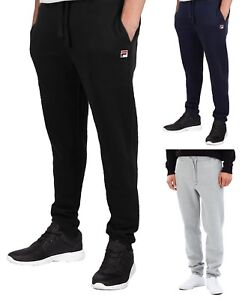92d2e998f919 FILA New Mens Visconti Jogging Bottoms Sweat Jog Pants Trousers ...