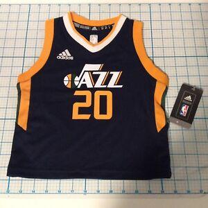 sports shoes 0caa5 5b65b ADIDAS Utah Jazz Youth HAYWARD No. 20 Official NBA Jersey ...