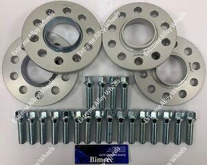 casilleros B BIMECC Espaciadores Rueda Aleación 10mm X 4 BMW 1 2 3 4 5 serie M14X1.25
