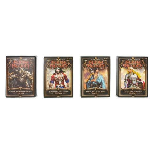 Flesh And Blood Welcome To Rathe Hero Deck Set TCG