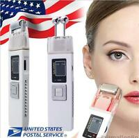 Usa Microcurrent Anti Aging/wrinkles Facial Massager Skin Spa Salon Device A+