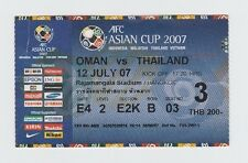 Orig.Ticket   Asienmeisterschaft / ASIAN CUP 2007  OMAN - THAILAND  !!  SELTEN