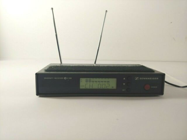 Sennheiser EW 100 G1 Wireless Receiver 630-662 MHz EW100 G1 ***FOR PARTS***