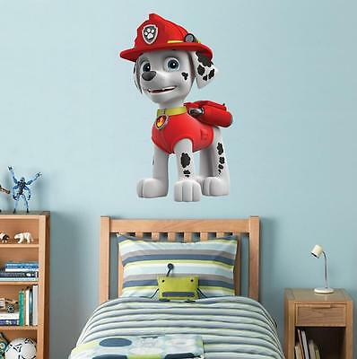 PAW PATROL RYDER Decal Removable WALL STICKER Home Decor Art Kids Dogs Huge