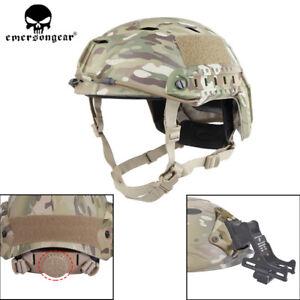 Emerson-BJ-Type-Tactical-Fast-Helmet-Advanced-Adjustment-Head-Size-w-Side-Rail