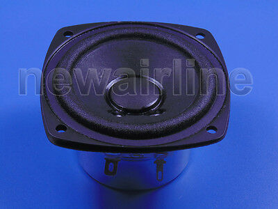 "1pcs 3"" inch 12ohm 12Ω 25W Full Range Audio Woofer Stereo Speaker Loudspeaker"