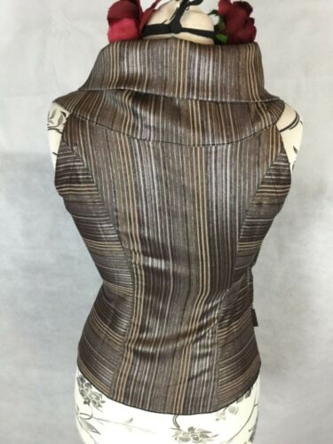 SIZE M OR S GORGEOUS STRIPED BLOUSE BY BOHEMIA OF SWEDEN RRP £55