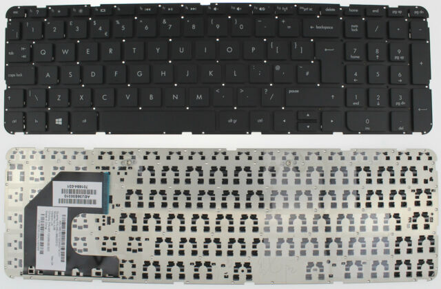 HP PAVILION 15 15-B 15-B146sa SLEEKBOOK ULTRABOOK KEYBOARD UK 701684-031 F82