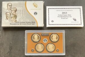 USA-2013-Presidential-Dollar-Proof-Set-S-San-Francisco-PP-polierte-Platte-1