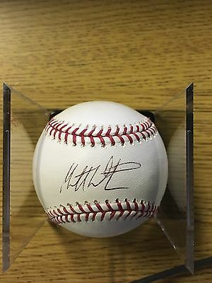 Baseball-mlb Matt Wieters Signed Official Mlb Ball Auto Orioles