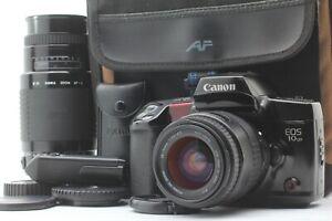 NEAR-MINT-in-Case-Canon-eos10-QD-Film-Kamera-mit-Sigma-Zoom-Objektiv-Set-aus-Japan