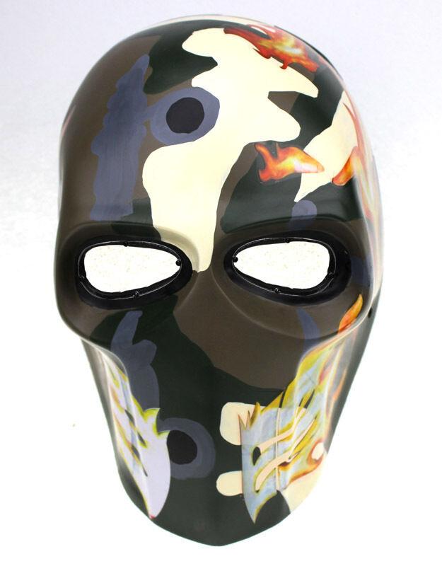 PC  Lente Ojo MásCochea Paintball Airsoft Projoección Facial Completa cráneo MásCochea de Utilería de M07840  el precio más bajo