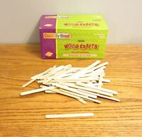 2000 Chenille Wood Popsicle Craft Sticks 4-1/2 X 3/8 Arts Parrot Bird Toys