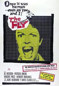 034-THE-FLY-034-PREZZO-DEL-Vincent-PATRICA-OWENS-Classico-1958-POSTER-DEL-FILM