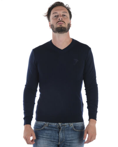 Pull Laine V700472svk00040 Collection Bleu V1145 Versace Homme OxwO0trp