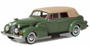 CADILLAC Series 75 Fleetwood - 1939 - green / cream - Esval 1:43
