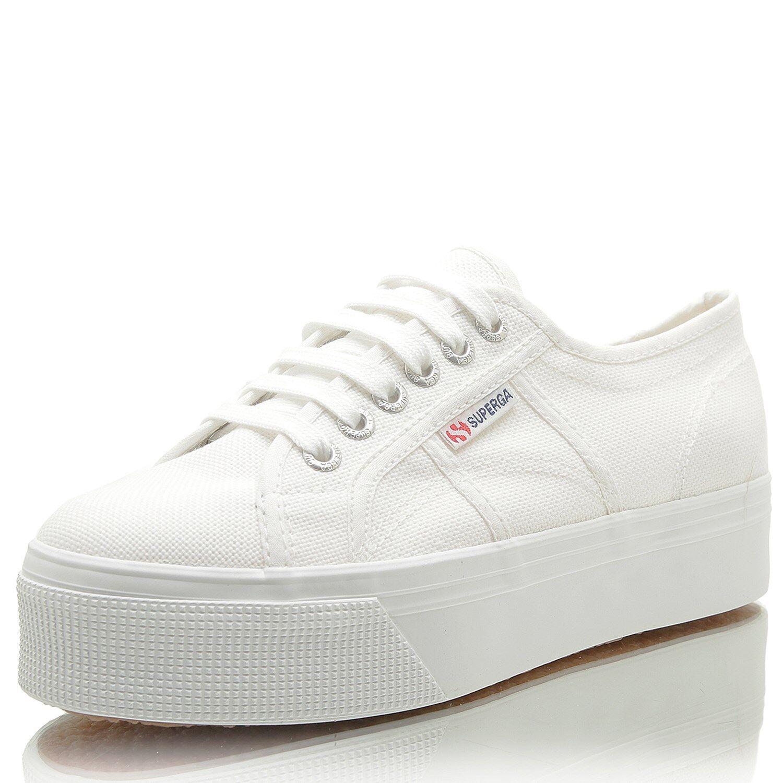 Zapatos promocionales para hombres y mujeres SUPERGA 2790 Acotw Linea Up And Down white