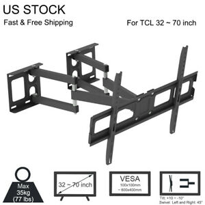 TV-Wall-Mount-Corner-Bracket-for-TCL-32-40-42-5-43-46-48-49-50-55-60-65-70-inch