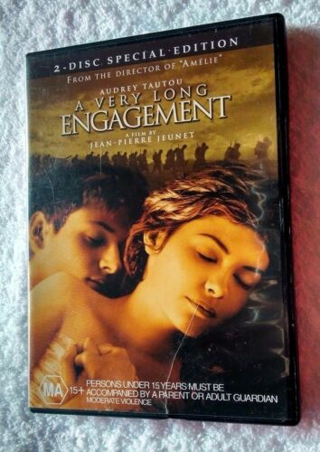 1 of 1 - A Very Long Engagement (DVD, 2-Disc Set) R-4, LIKE NEW, FREE POST IN AUSTRALIA