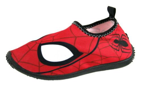 Spiderman Aqua Socks Boys Swim Shoes Holiday Beach Wetsuit Water Kids Character