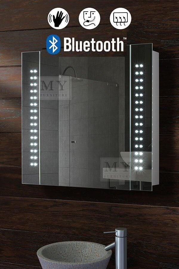 Illuminated LED Blautooth Bathroom Mirror Cabinet