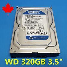 """WD Western Digital Caviar Blue 320GB 7200RPM 3.5"""" WD3200AAKS 0X391D SATA HDD"""